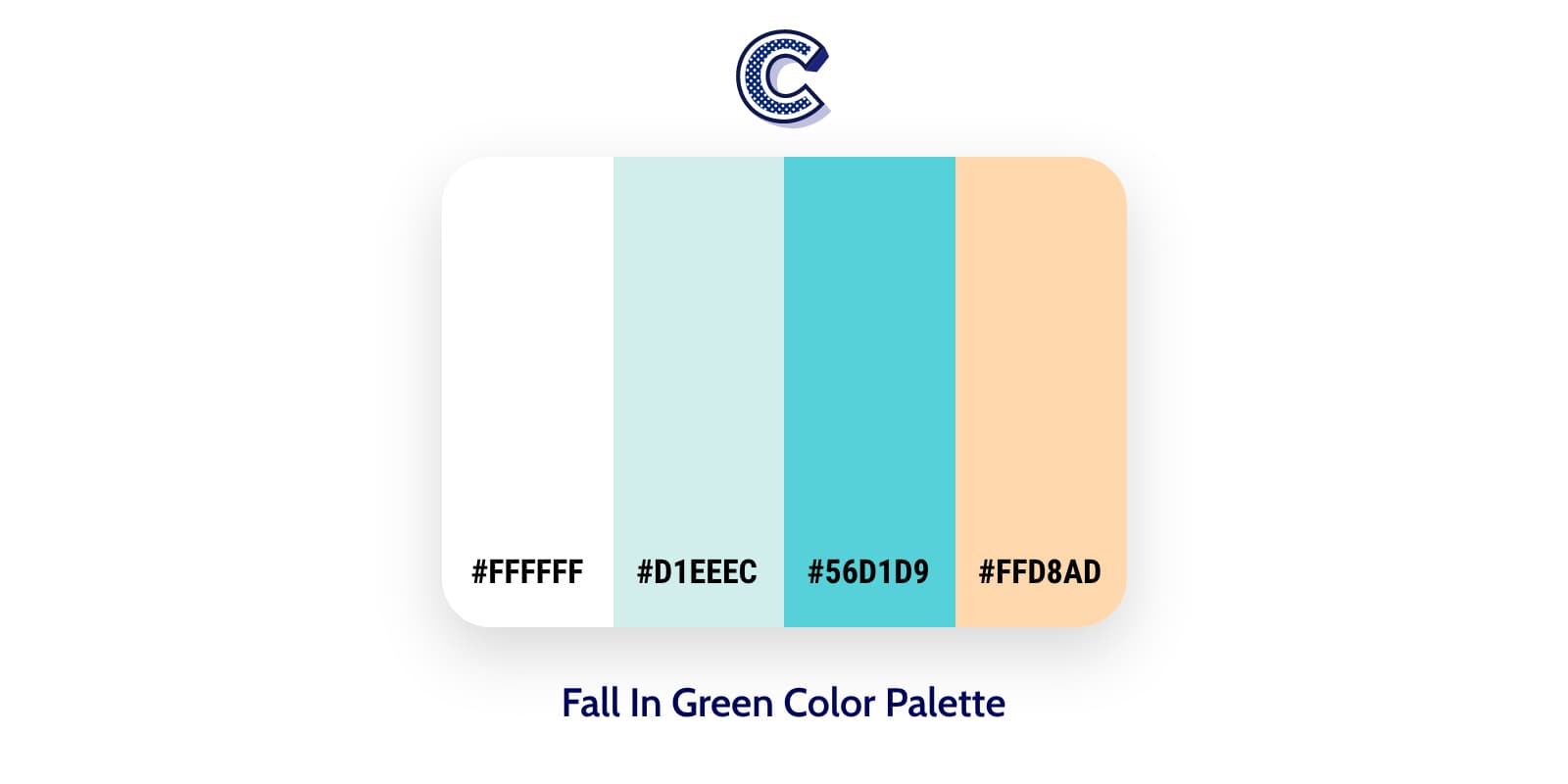 the featured image of fall in green color palette