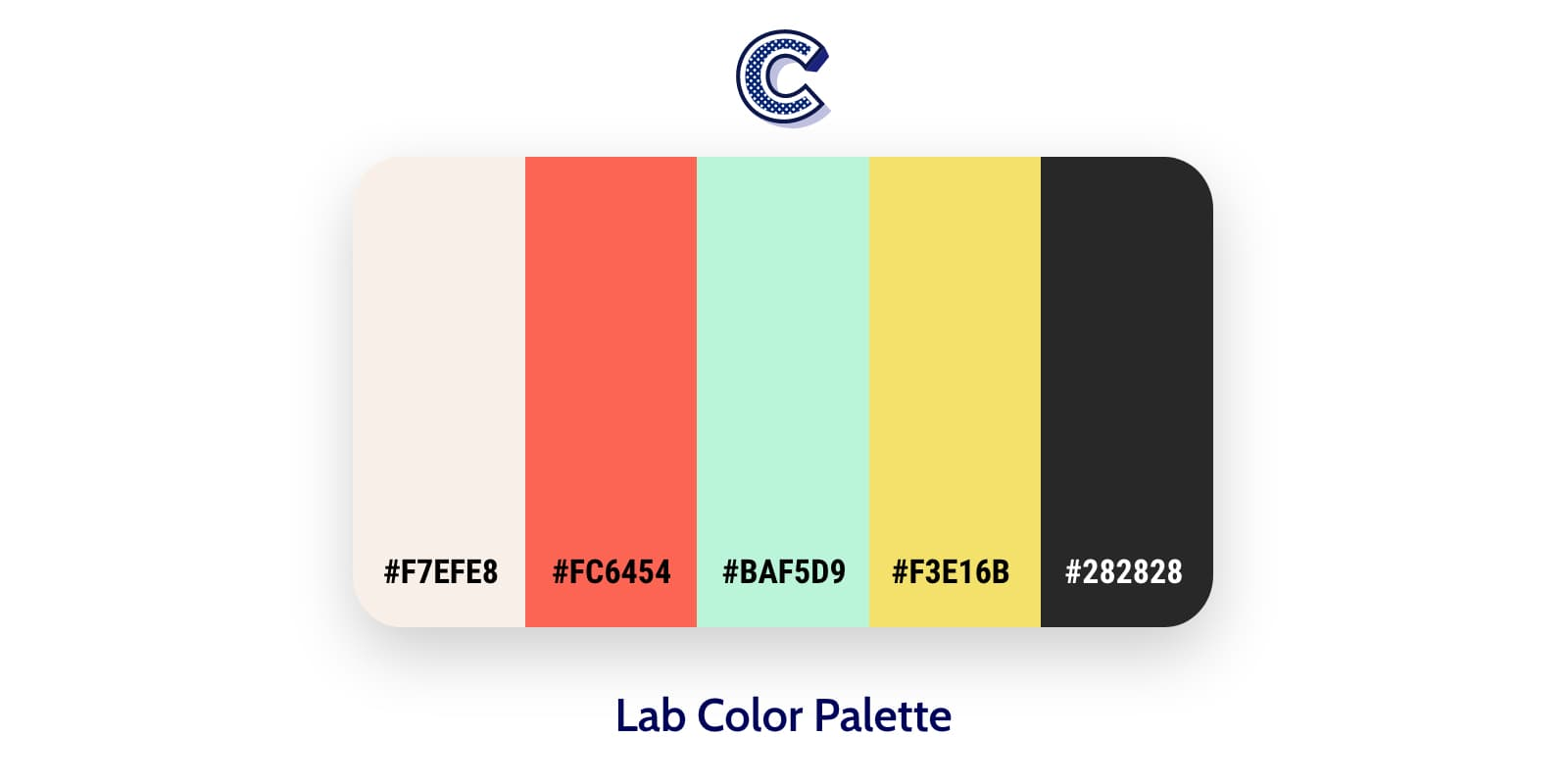 the featured image of lab color palette
