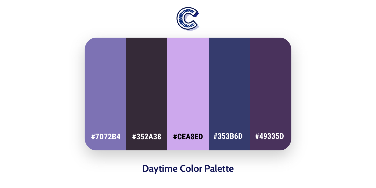 the featured image of daytime color palette