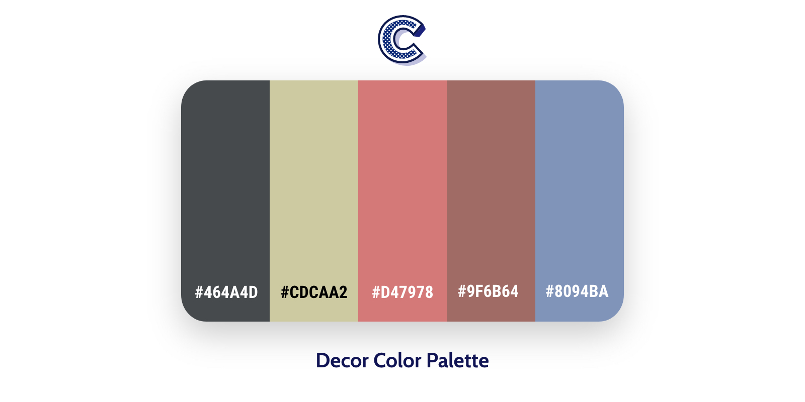 the featured image of decor color palette