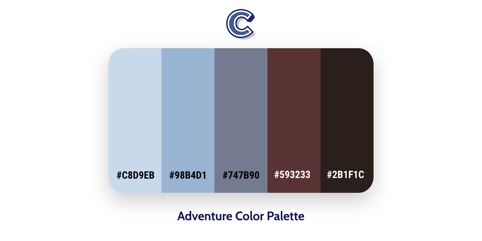 the featured image of adventure color palette