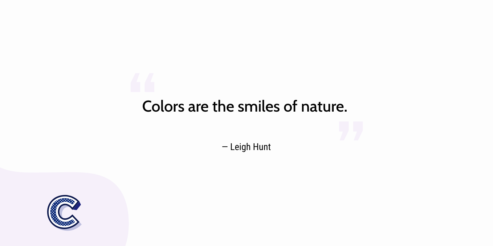 the featured image of the colors are the smiles of nature