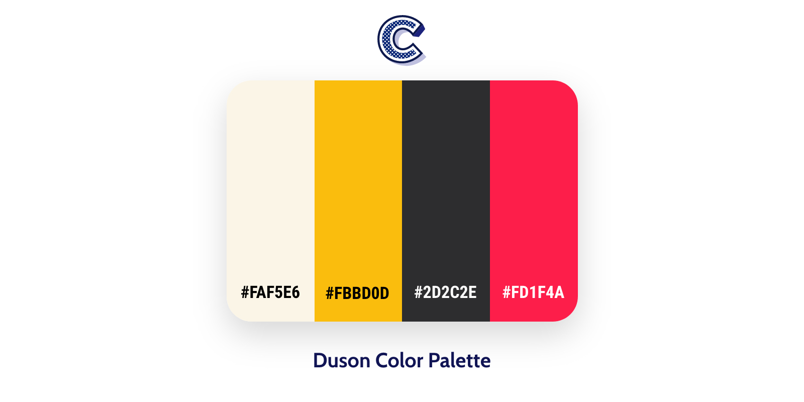 the featured image of duson color palette
