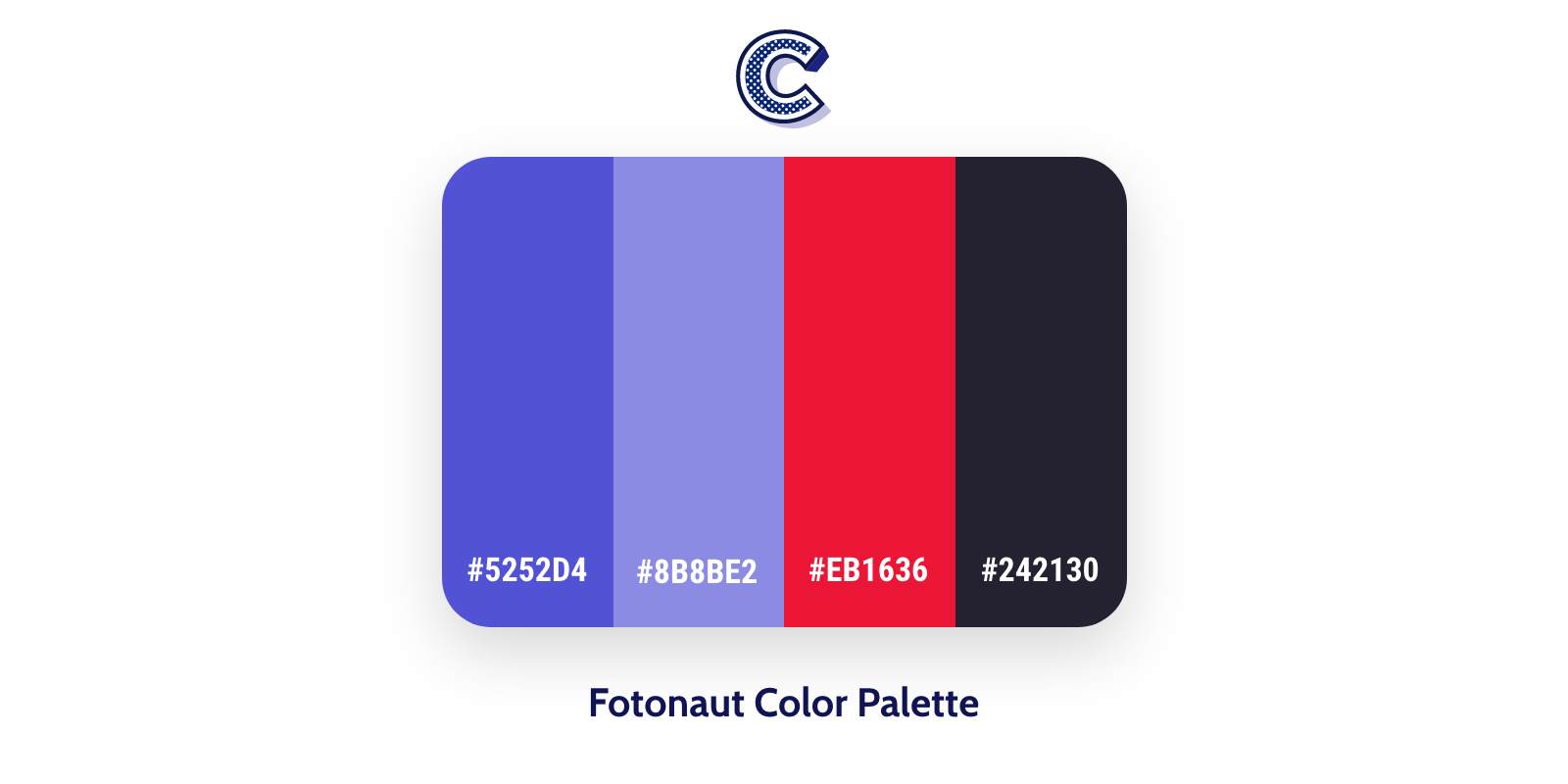 the featured image of fotonaut color palette