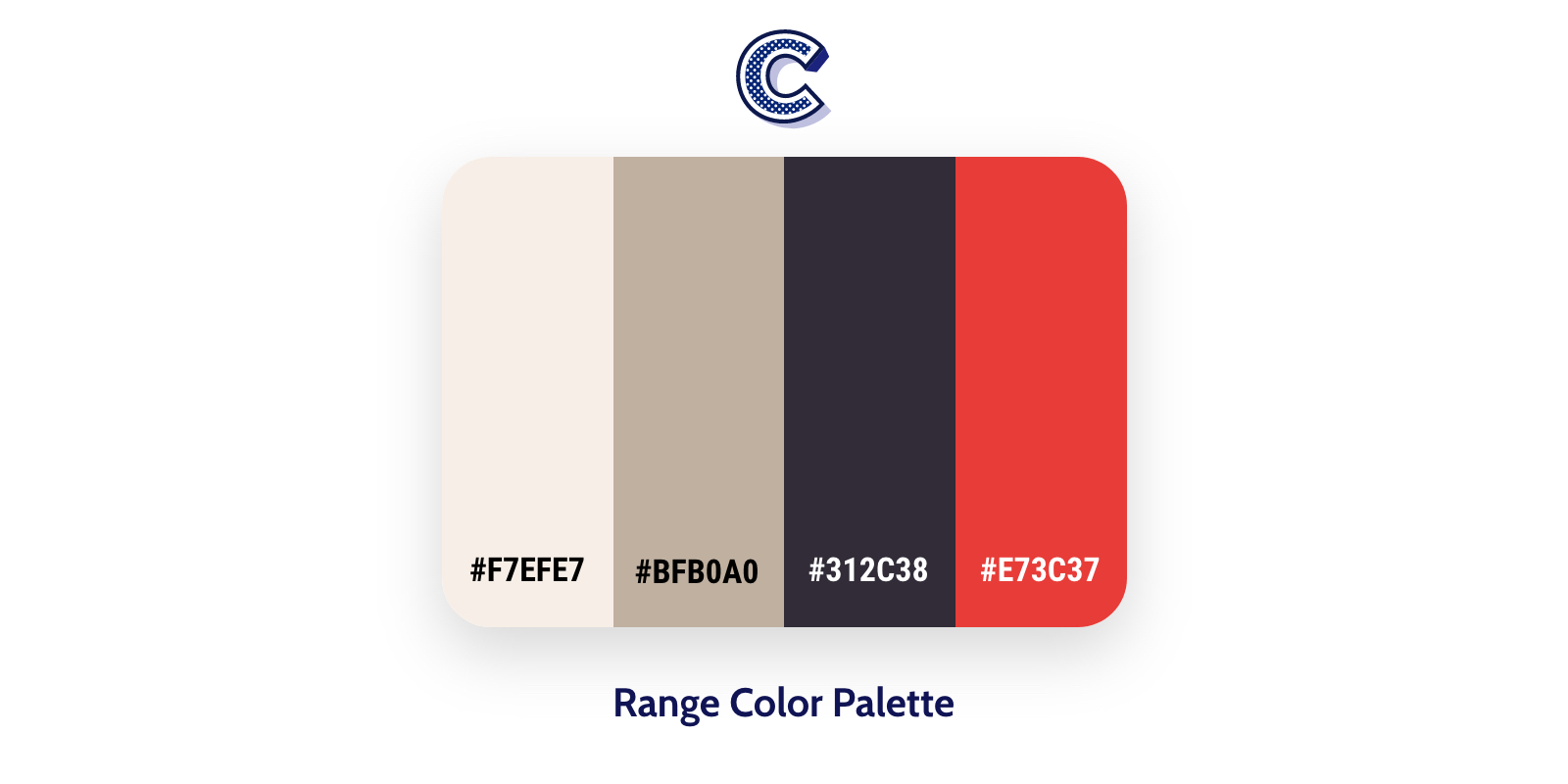 the featured image of range color palette