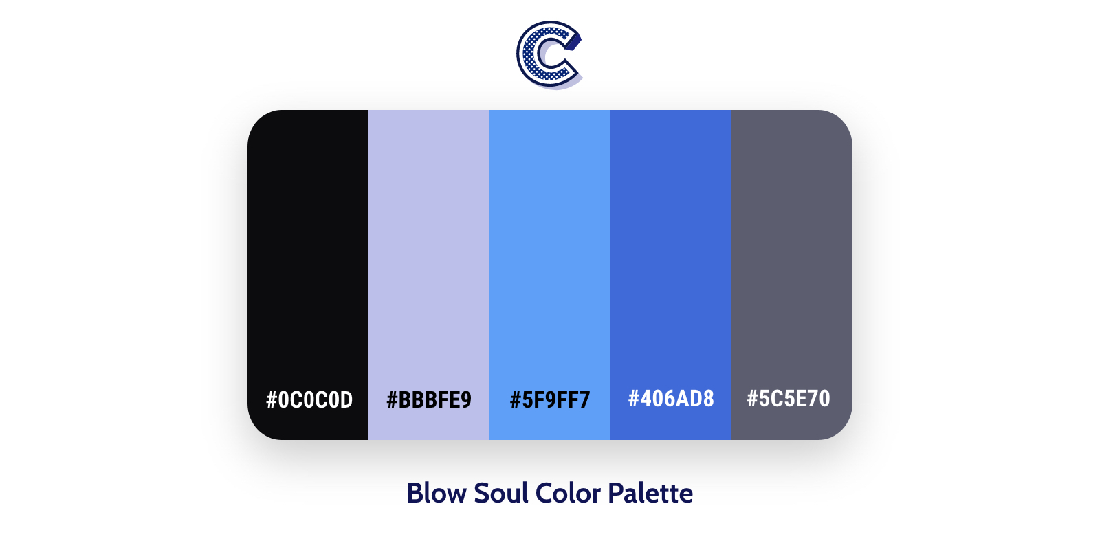 the featured image of blow soul color palette