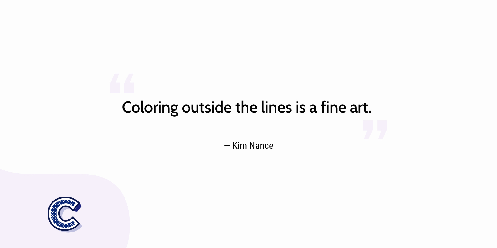the featured image of the coloring outside the lines is a fine art.