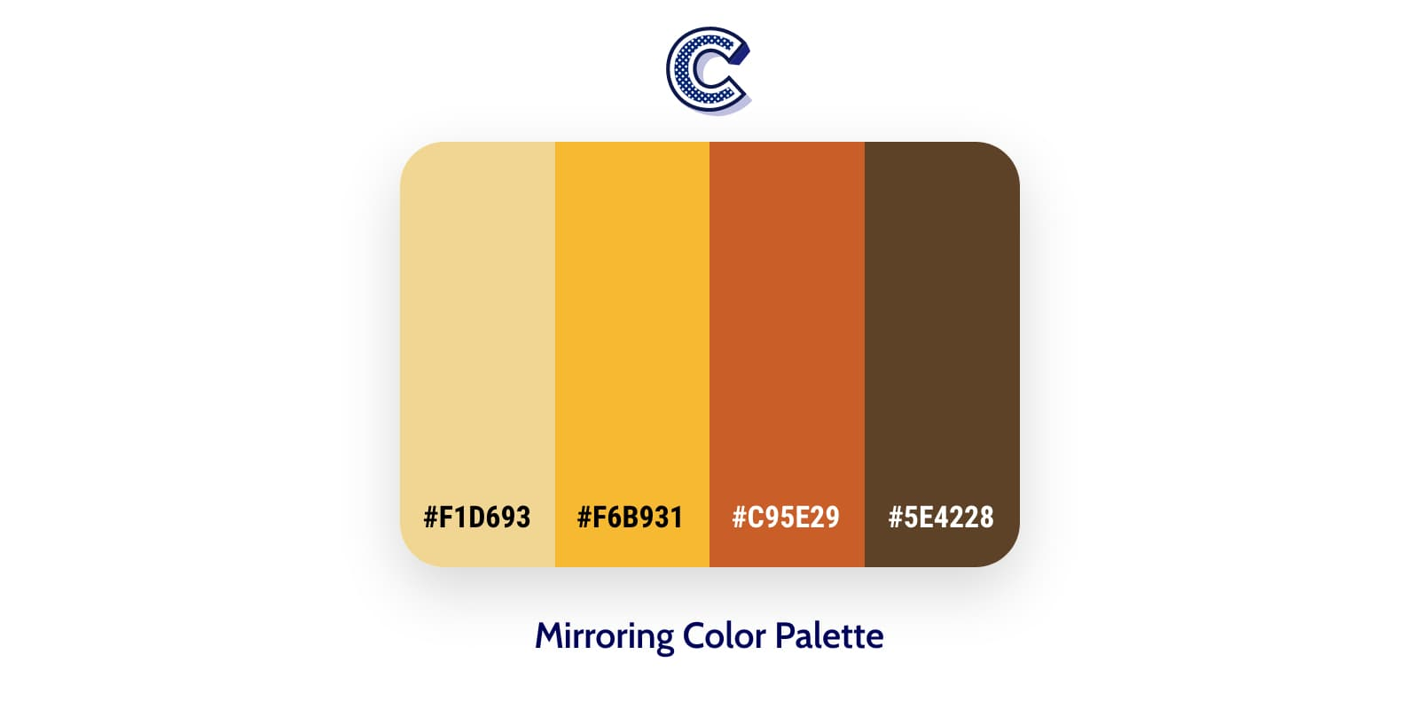 the featured image of mirroring color palette