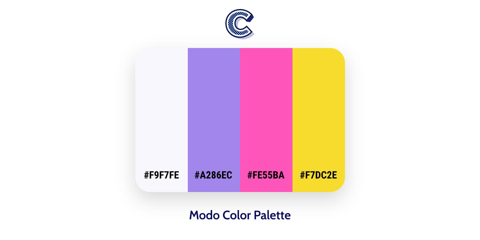 the featured image of modo color palette