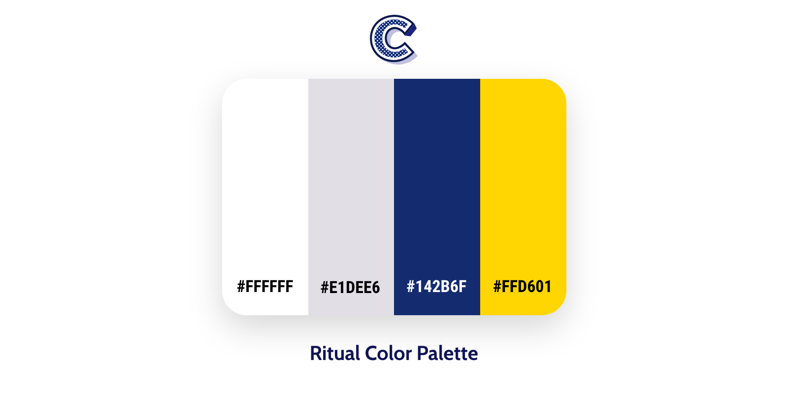 the featured image of ritual color palette