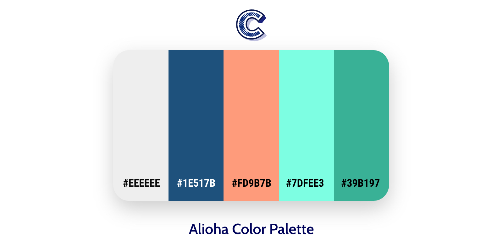 the featured image of alioha color palette