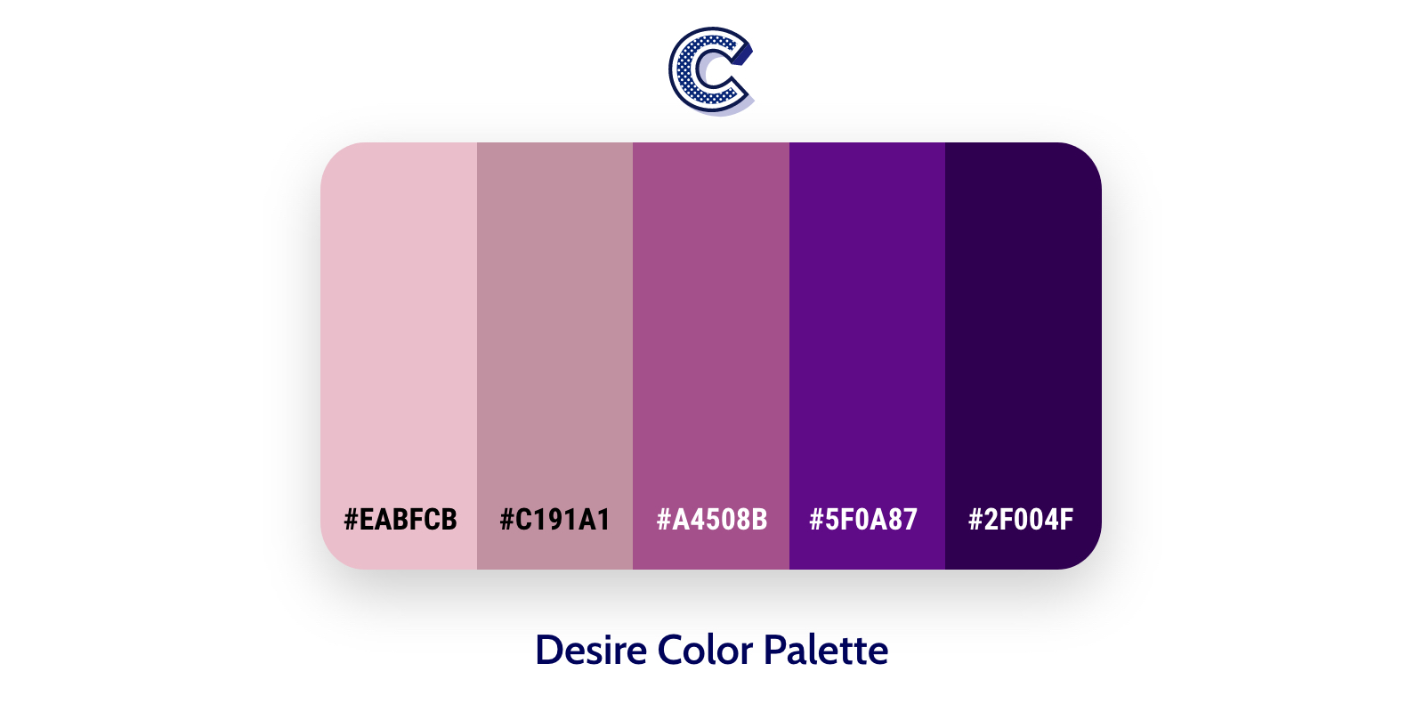 the featured image of desire color palette