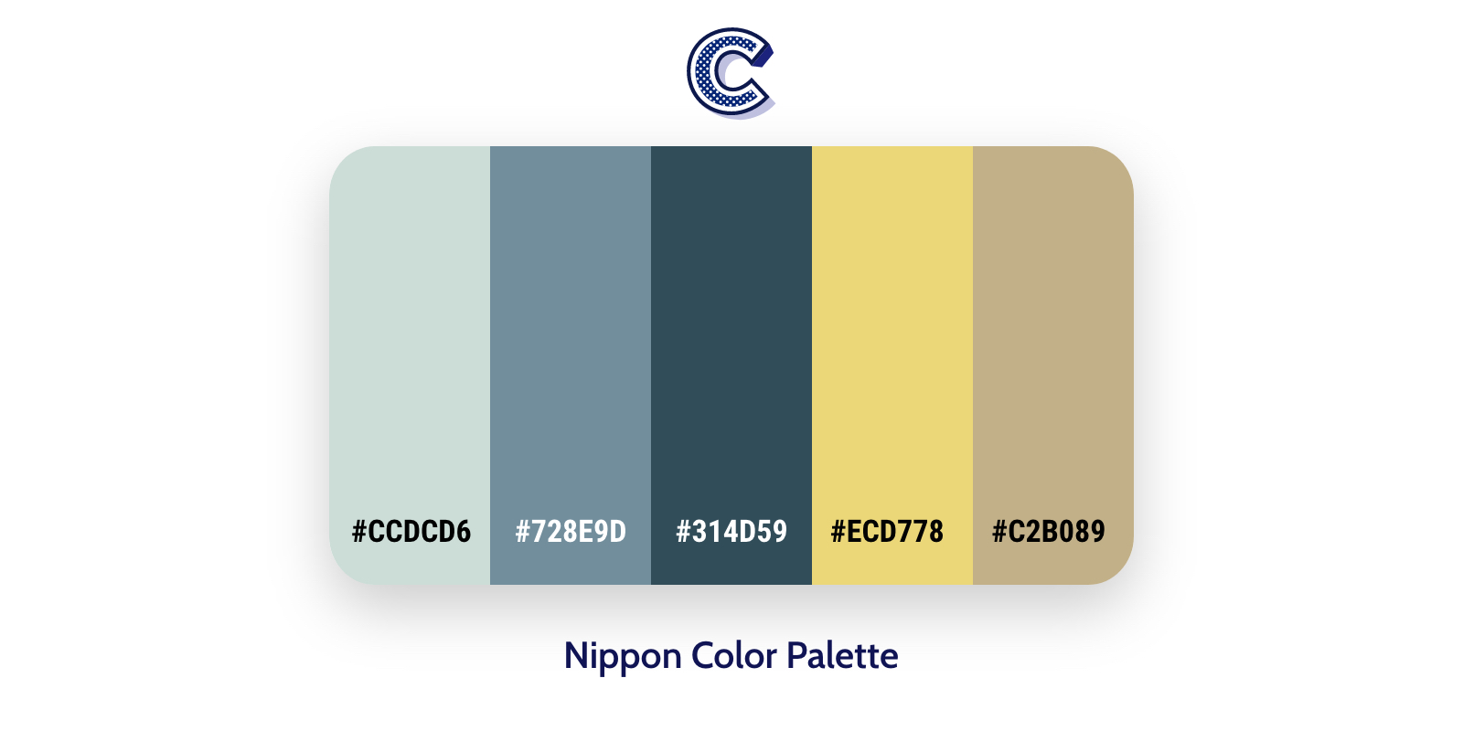the color palette of nippon