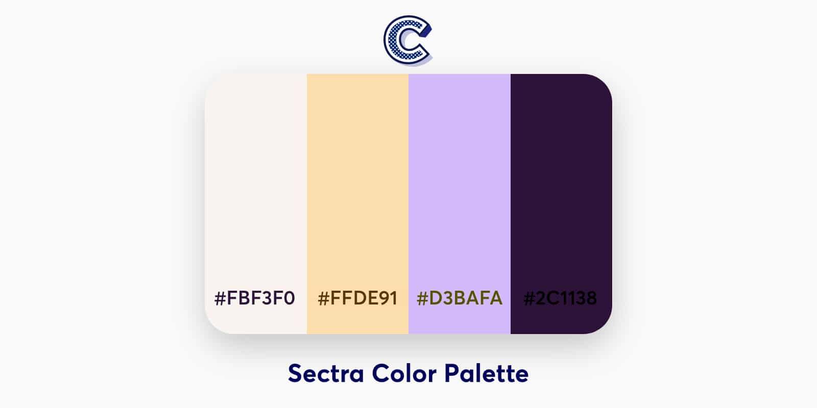 the featured image of spectra color palette