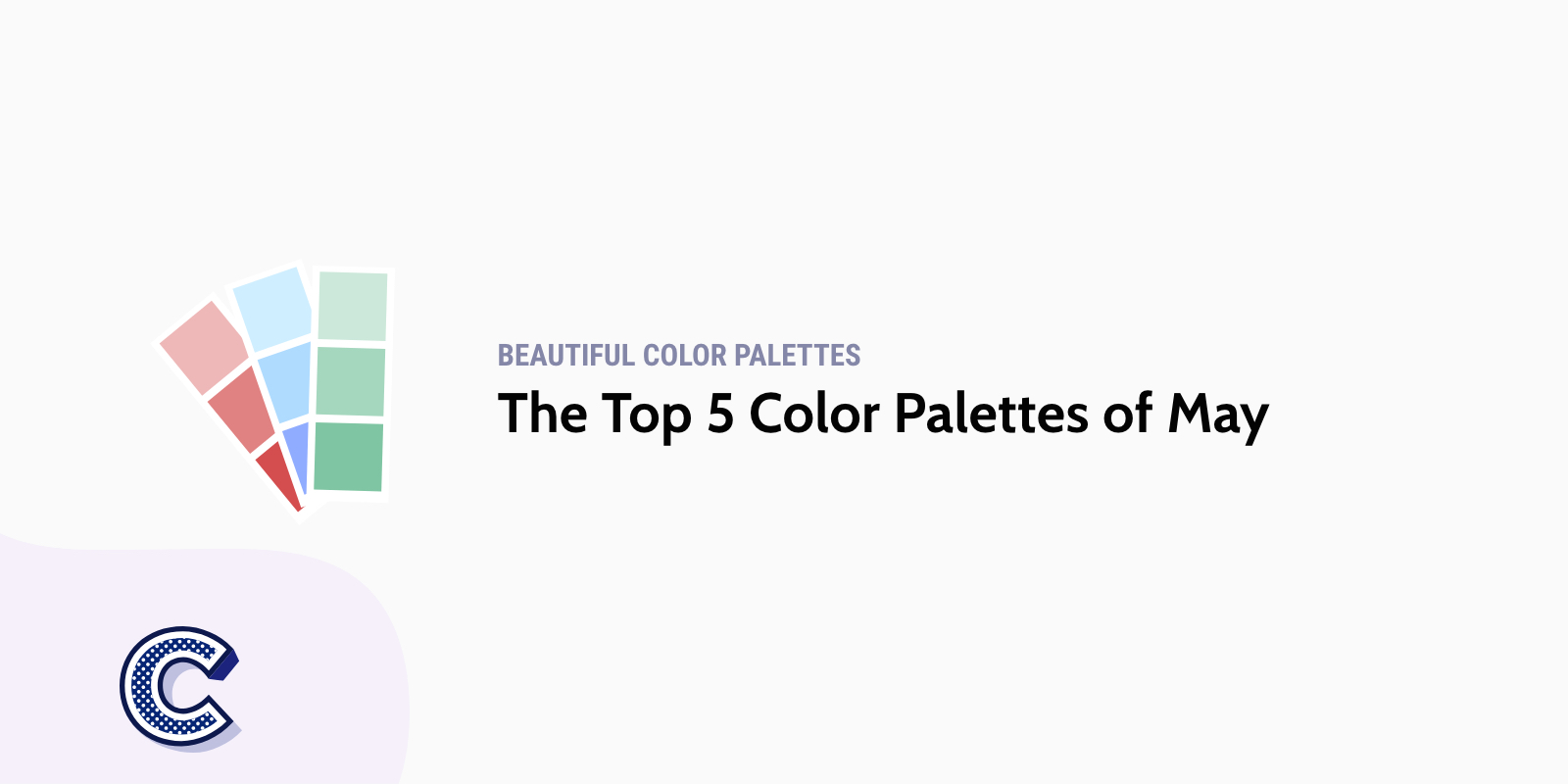 the top five color palettes of may