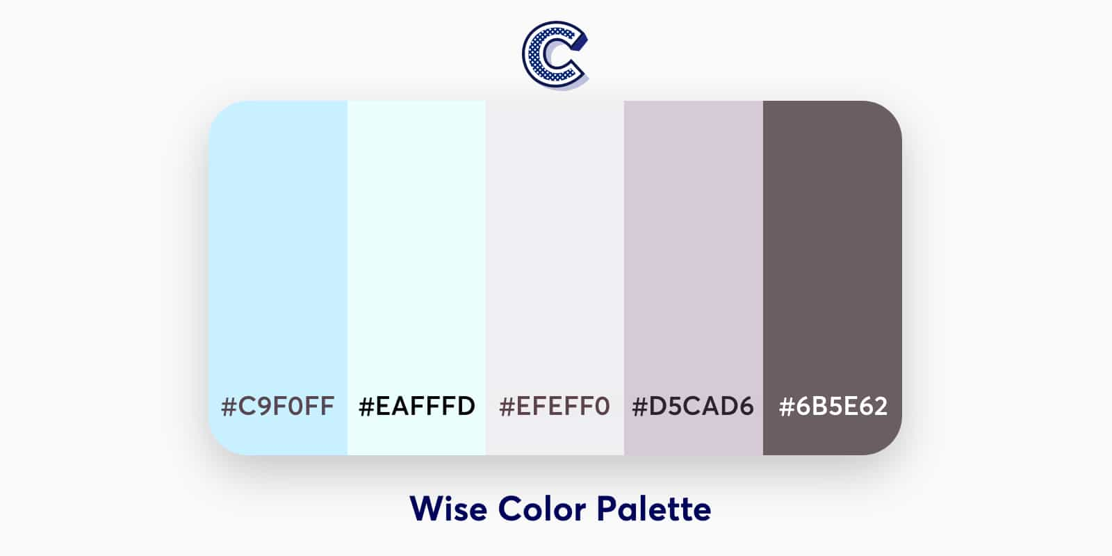 the featured image of wise color palette