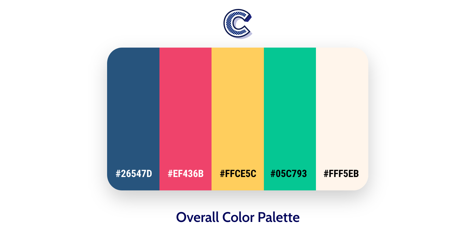 the feautured image of overall color palette