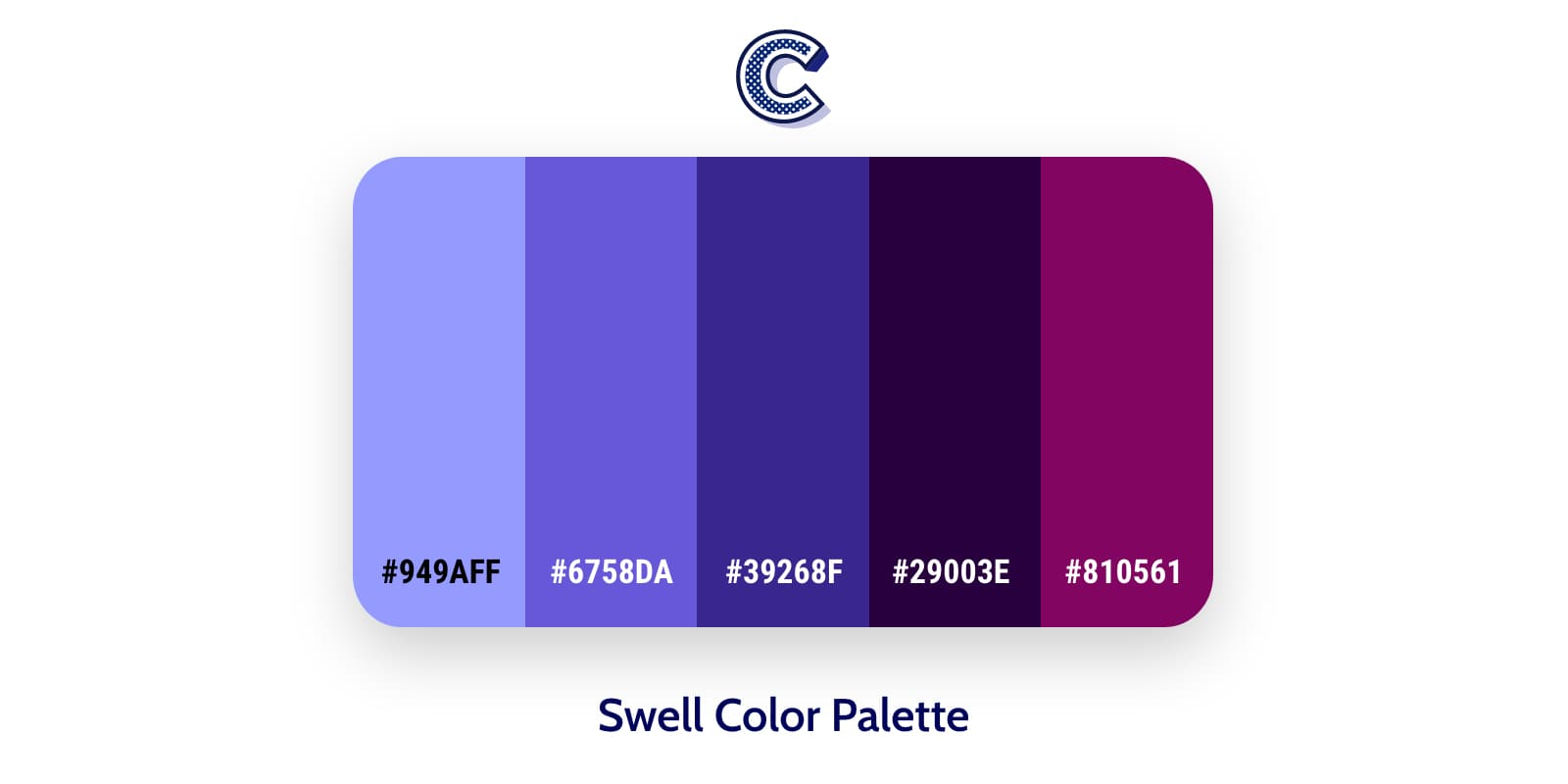the featured image of swell color palette