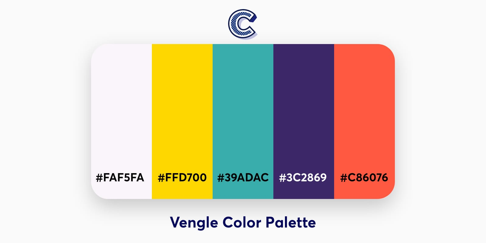 the featured image of vengle color palette
