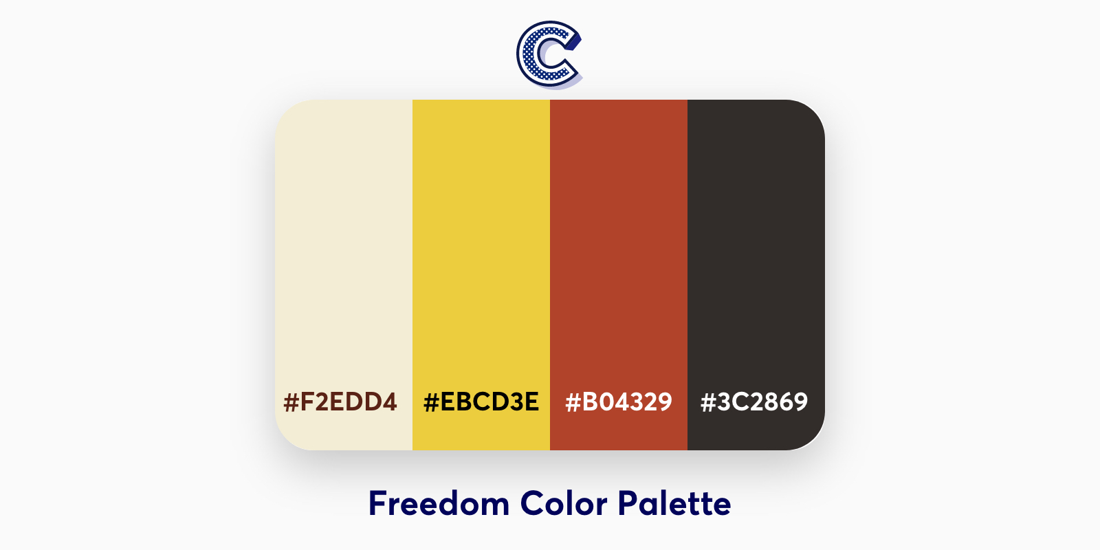 the featured image of freedom color palette