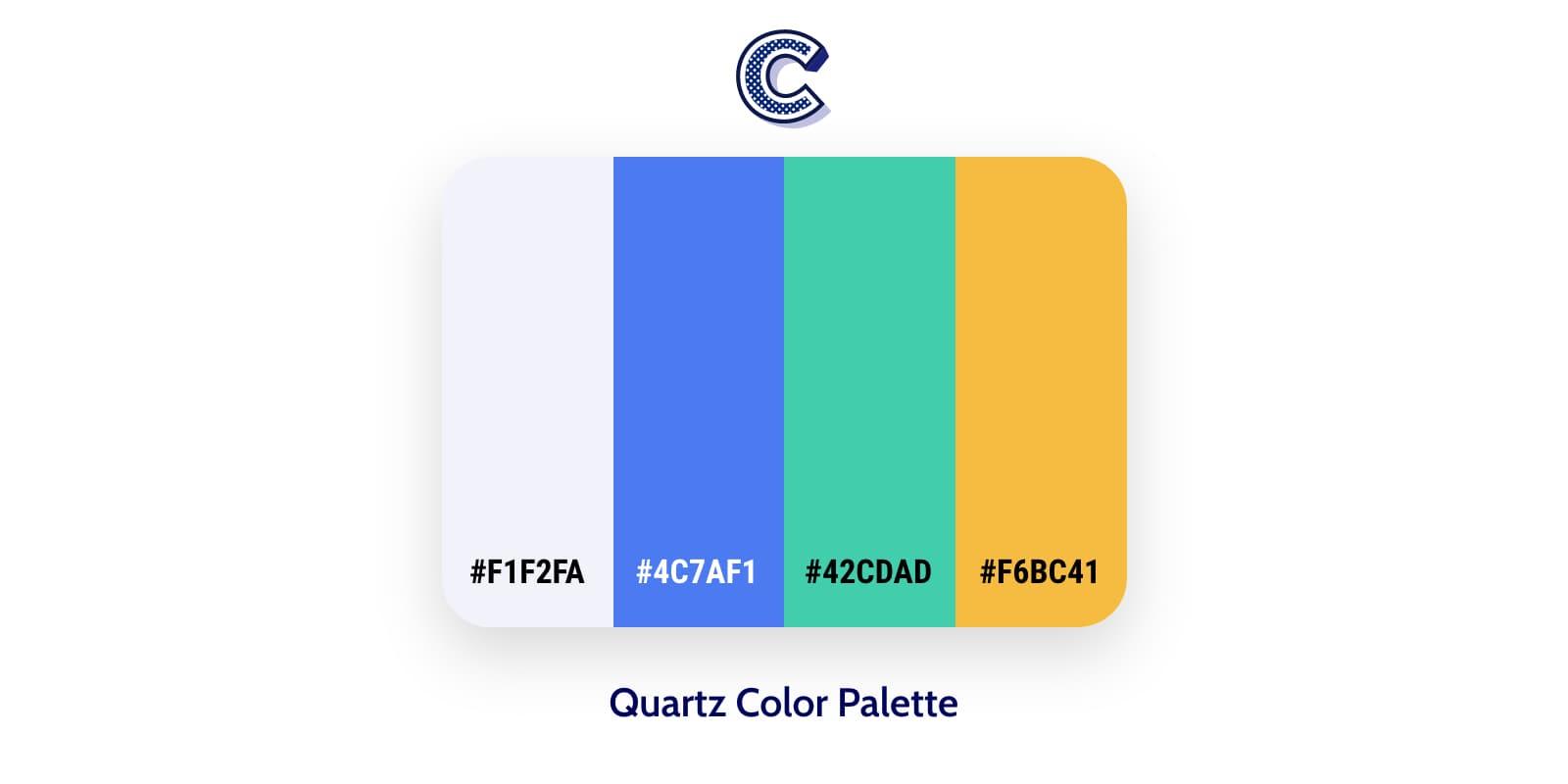 the featured image of quartz color palette