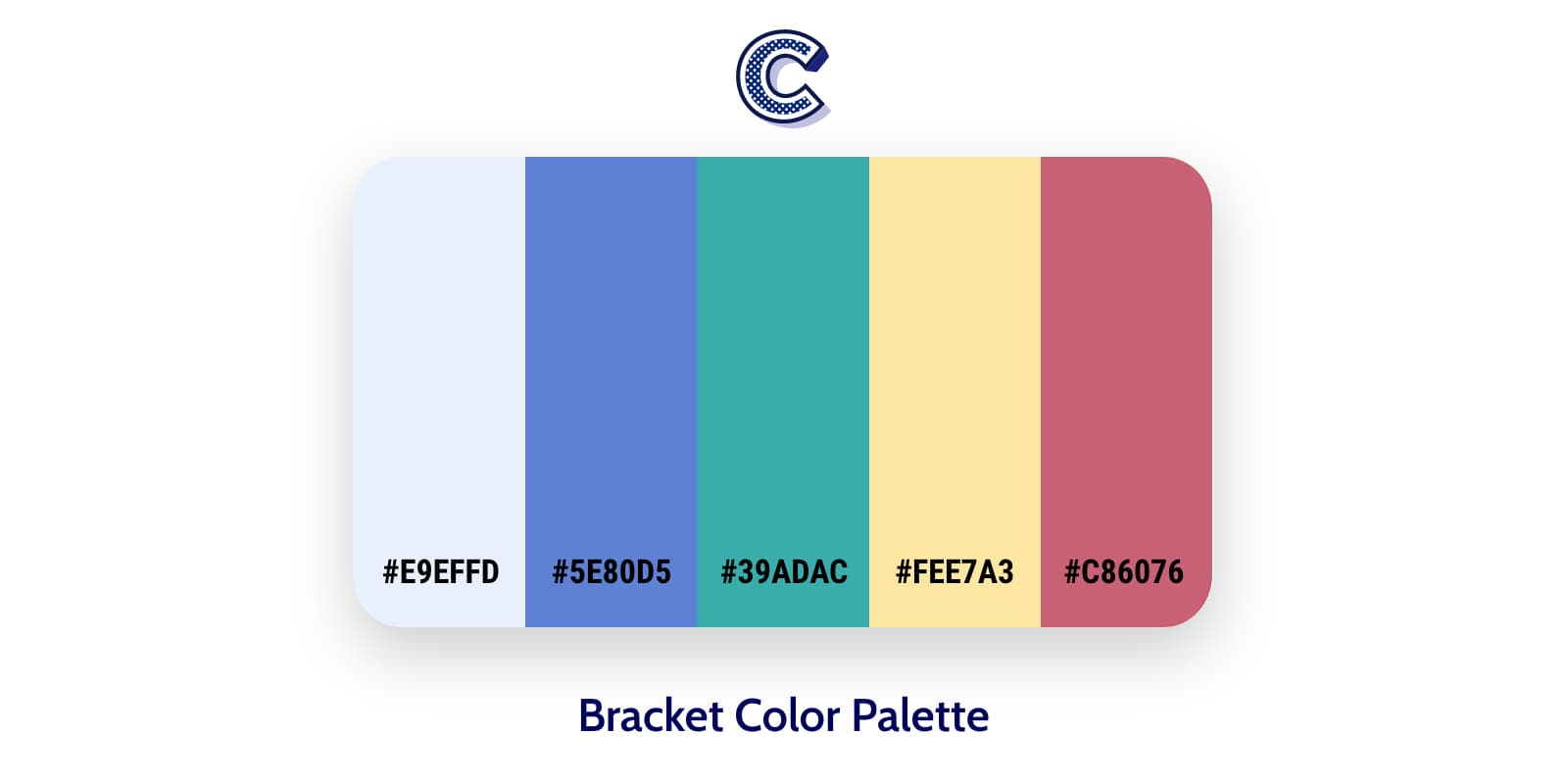 the featured image of bracket color palette