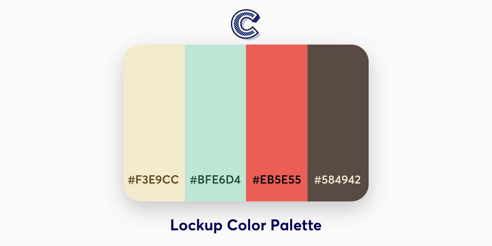 the featured image of lockup color palette