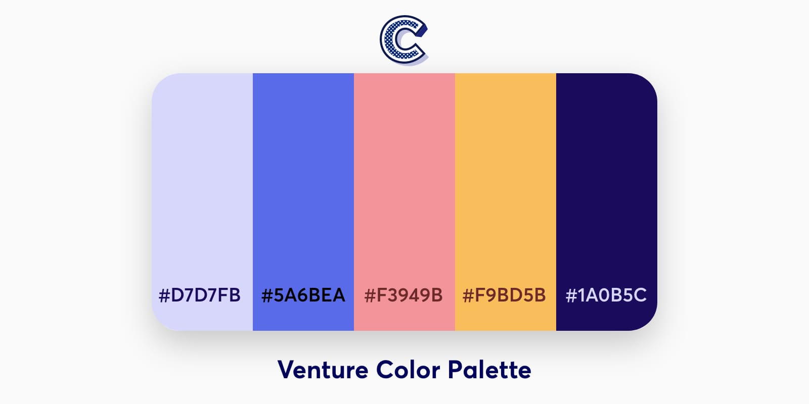 the featured image of venture color palette