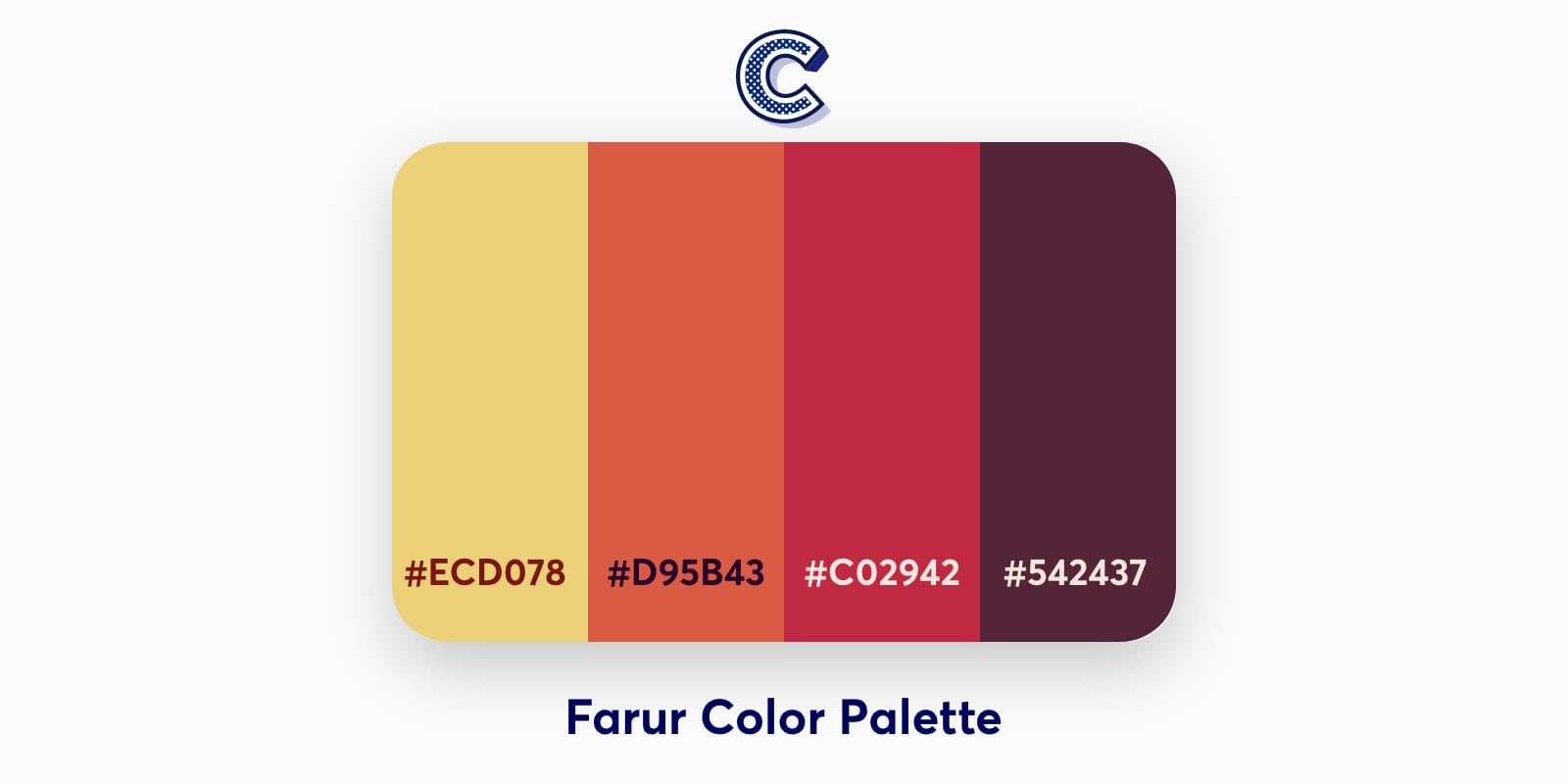 the featured image of farur color palette