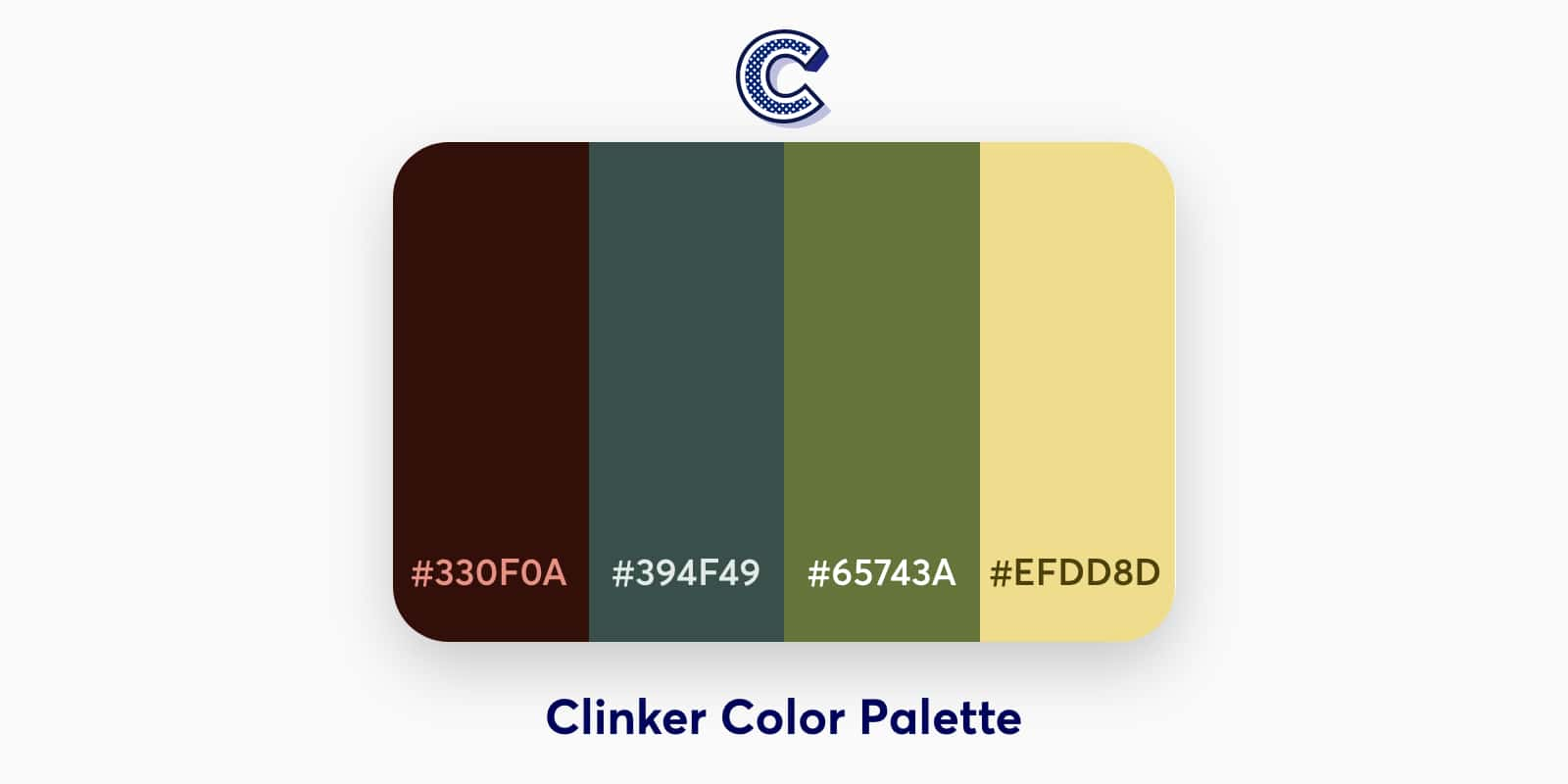 the featured image of clinker color palette
