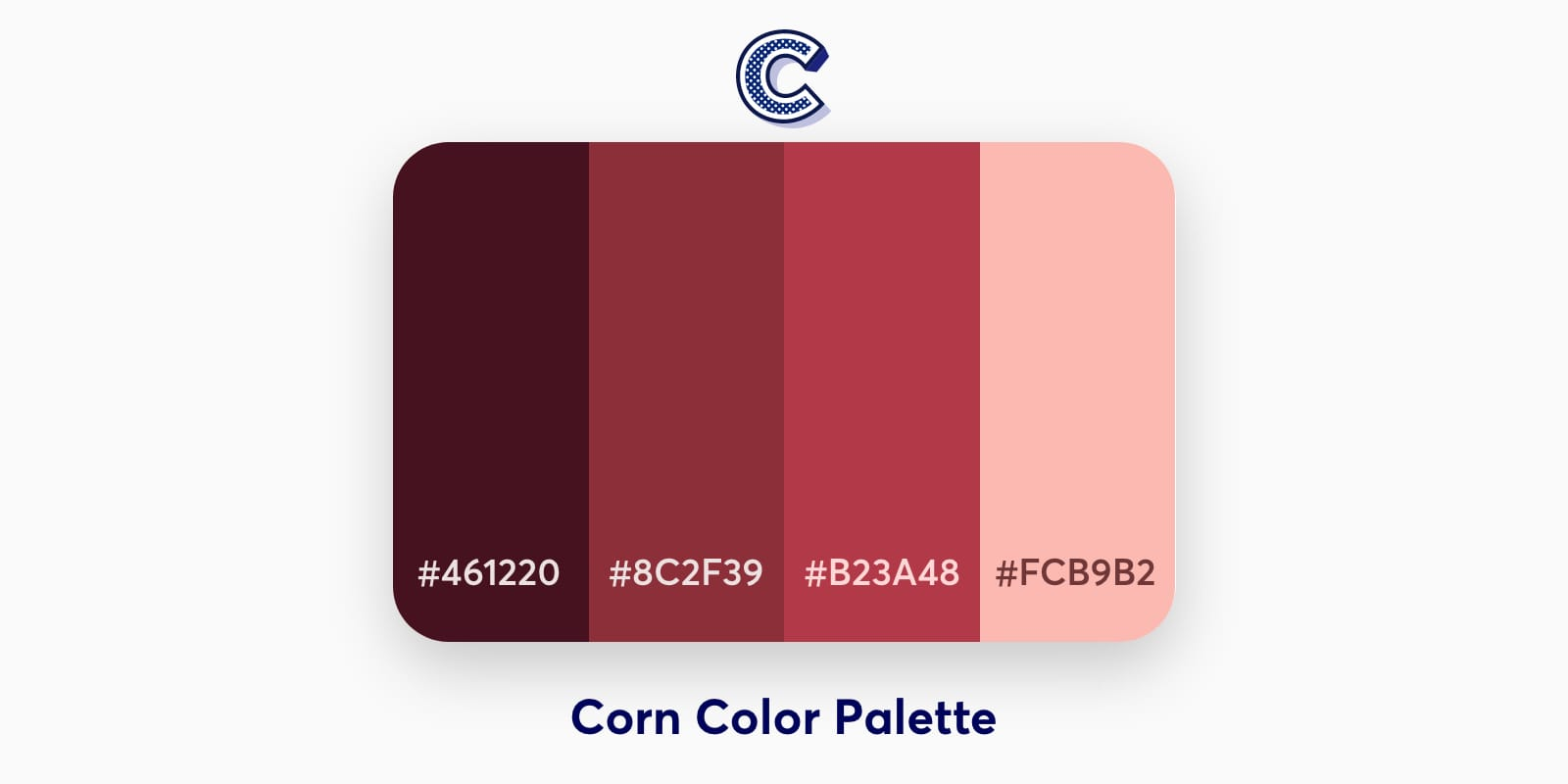 the feaured image of corn color palette