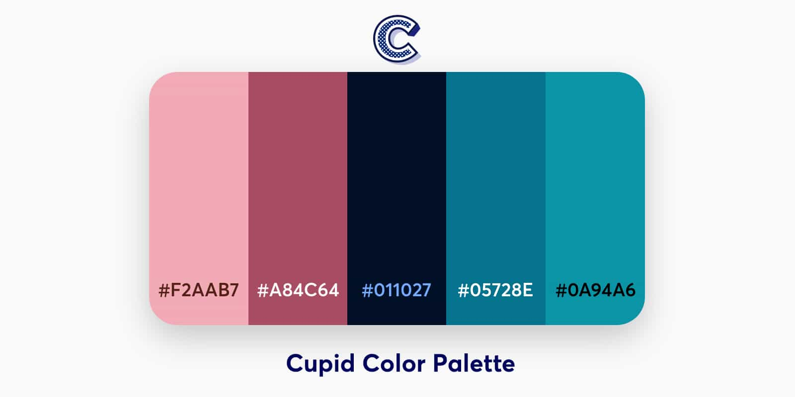 the featued image of cupid color palette