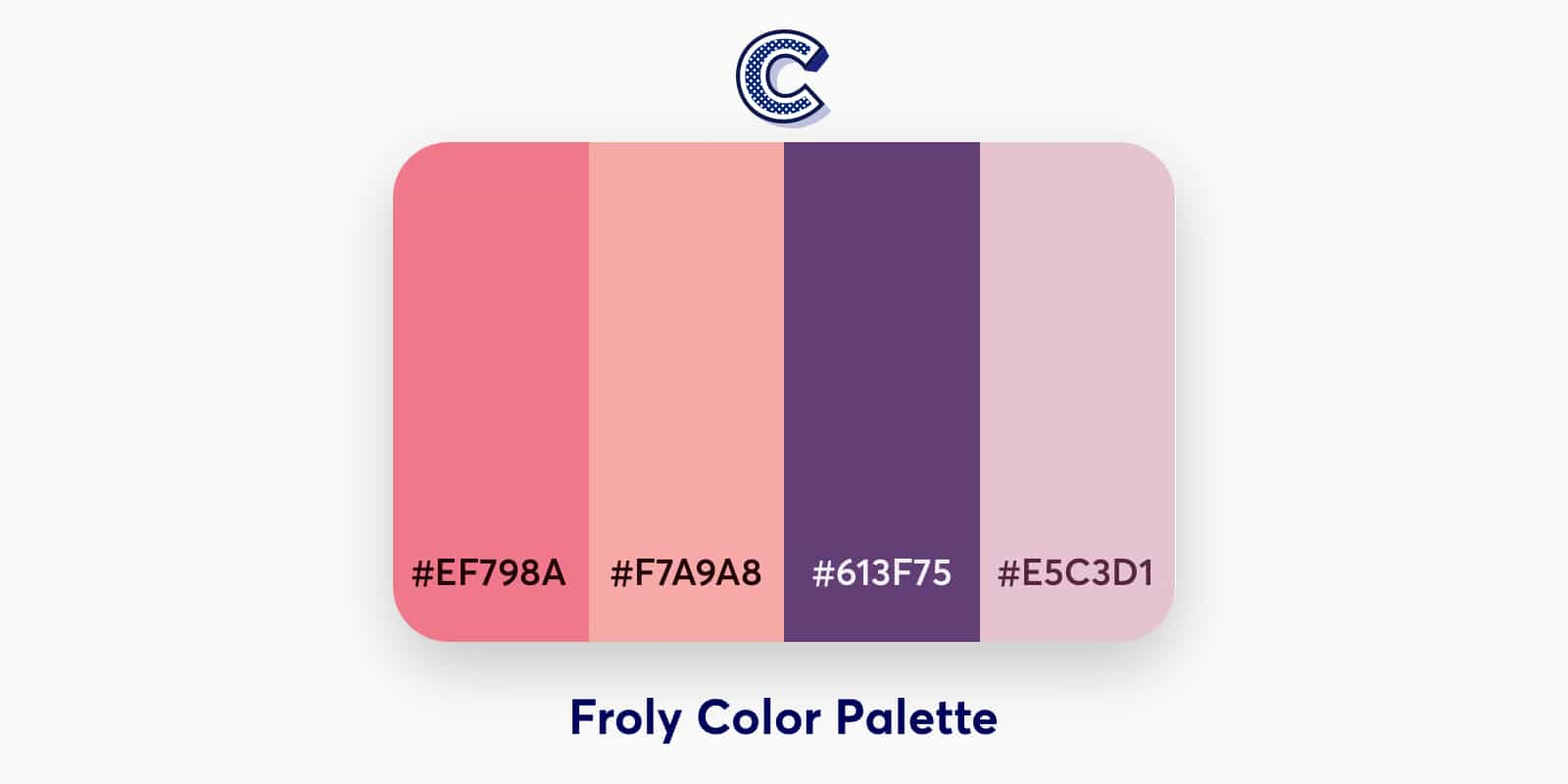 the featured iamge of froly color palette