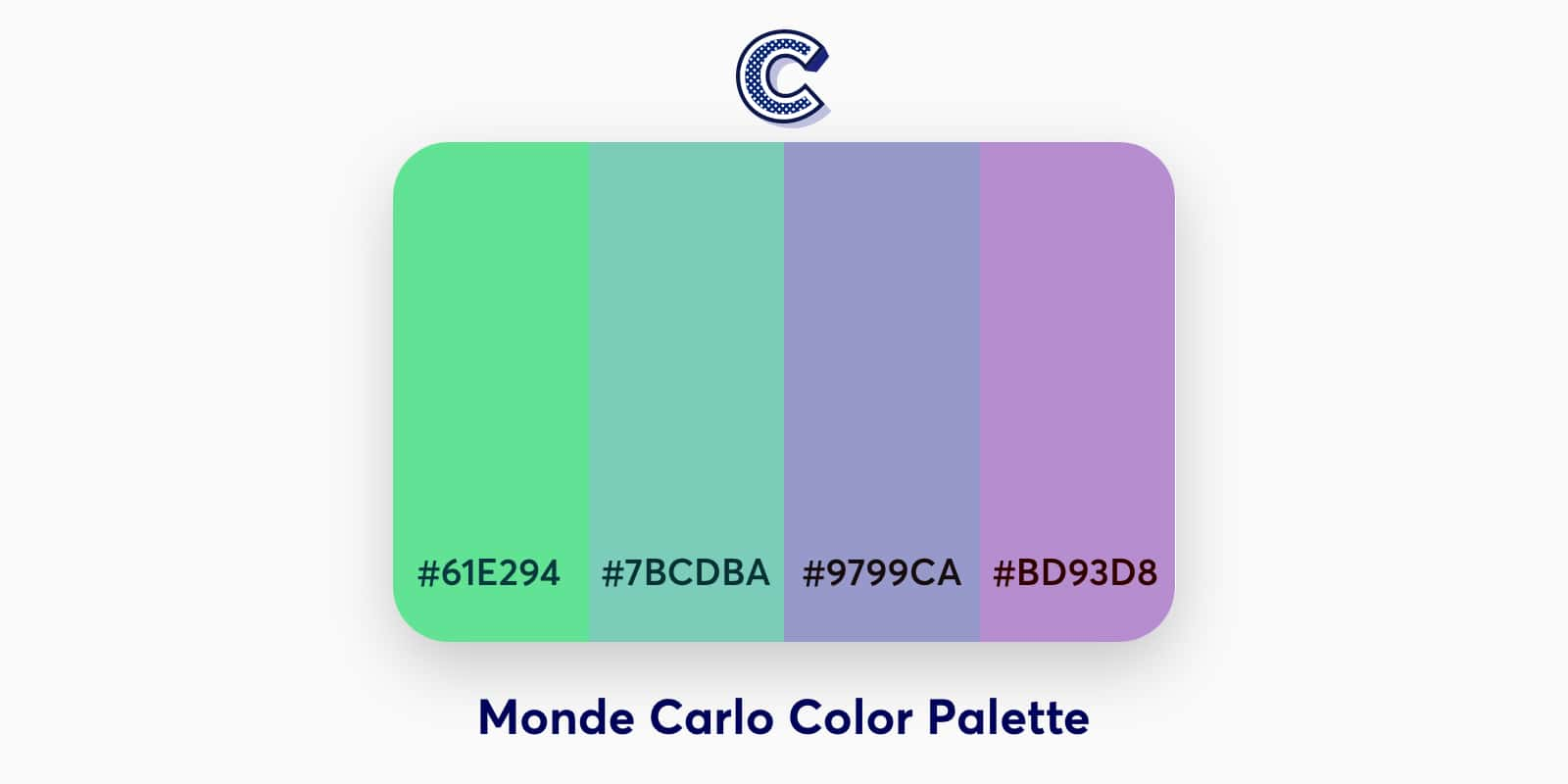 the featured image of monde carlo color palette