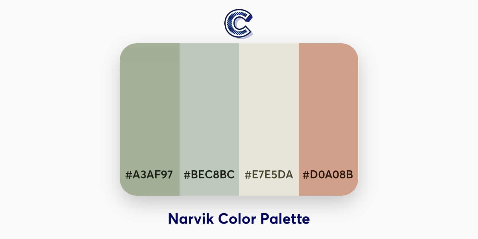 the featured image of narvik color palette