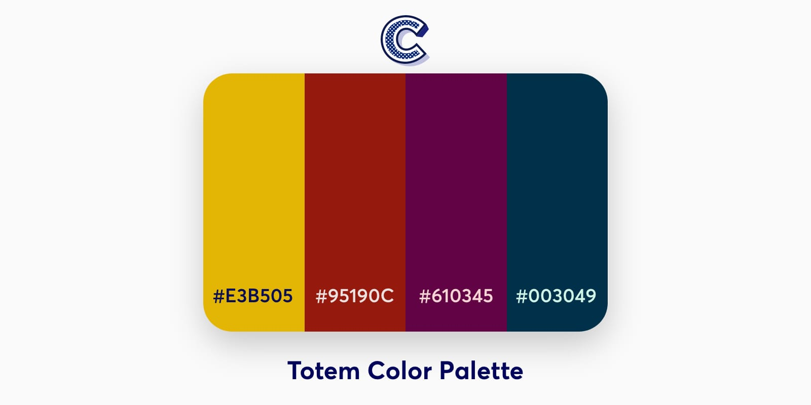 the featured image of totem color palette