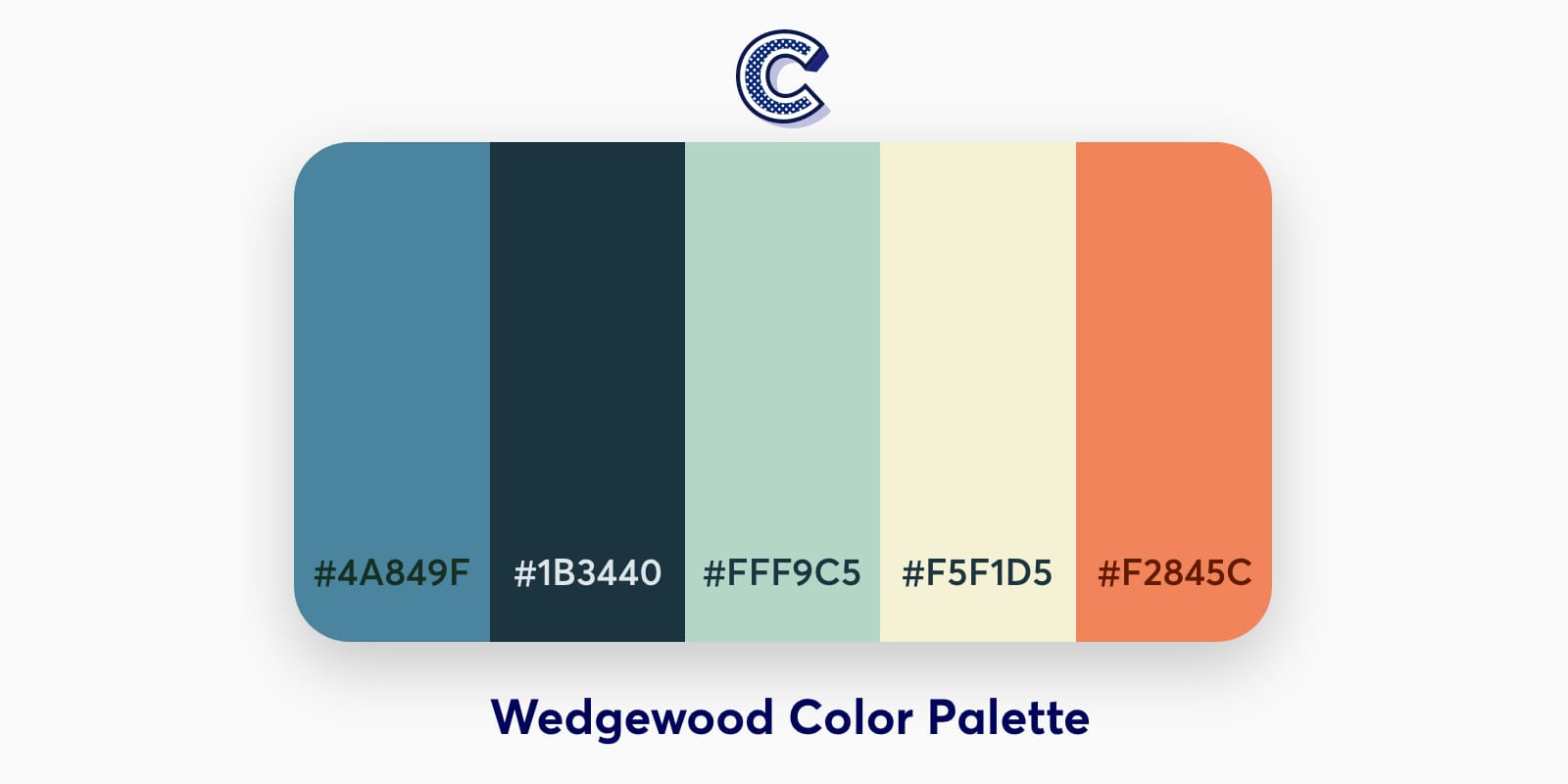 the featured image of Wedgewood Color Palette