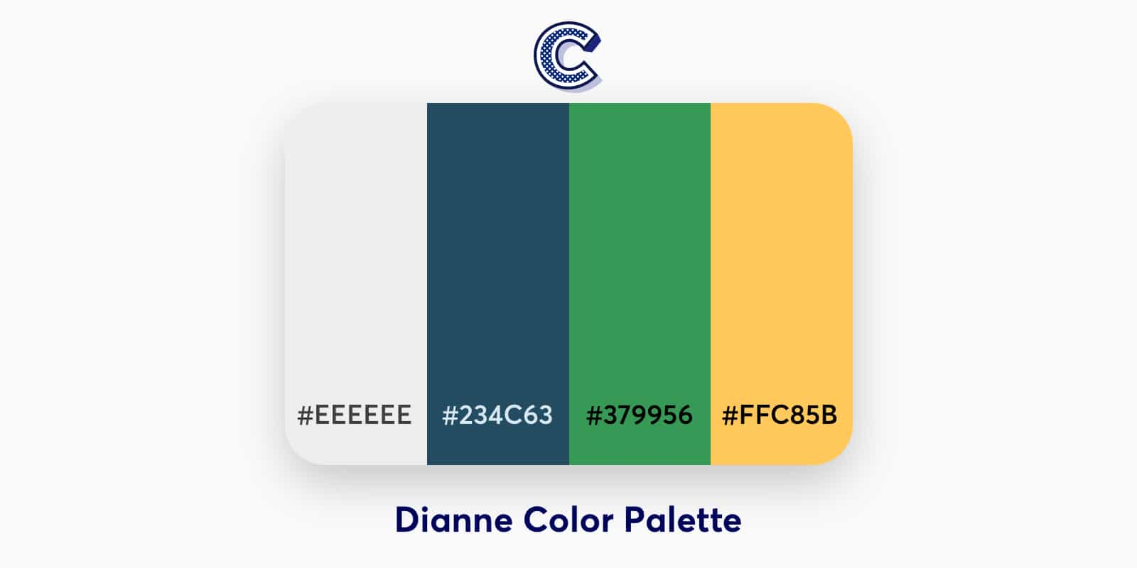 the featured image of dianne color palette