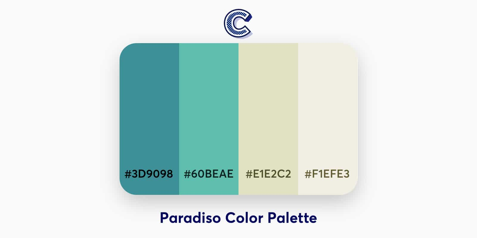 the featured image of paradiso color palette